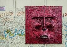 3D Art, Peace Walls, Belfast, Northern Ireland