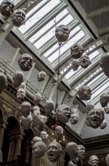 Faces at Kelvingrove Art Gallery and Museum, Glasgow, Scotland