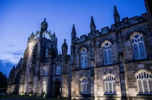 King's College Crown Tower, Aberdeen, Scotland