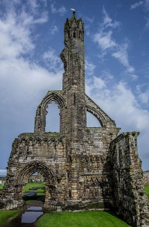 Ruins of St. Andrews Cathedral, St. Andrews, Scotland
