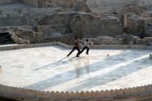 The Citadel of Aleppo, Syria